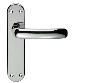 Serozzetta Shape Polished Chrome Door Handles - SZM056 (sold in pairs)