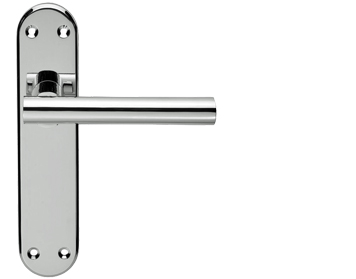 Serozzetta System Polished Chrome Door Handles - SZM067 (sold in pairs)