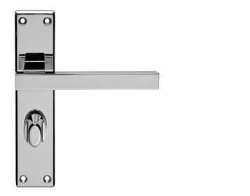 Carlisle Brass Serozzetta Stratus Polished Chrome Door Handles - SZM243 (sold in pairs)