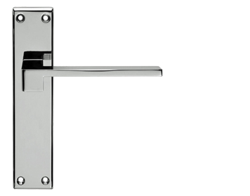 Carlisle Brass Serozzetta Equi Polished Chrome Or Satin Chrome Door Handles - SZM371 (sold in pairs)