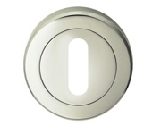 Carlisle Brass Serozzetta Residential Standard Profile Escutcheons, Polished Nickel Or Satin Nickel - SZR002