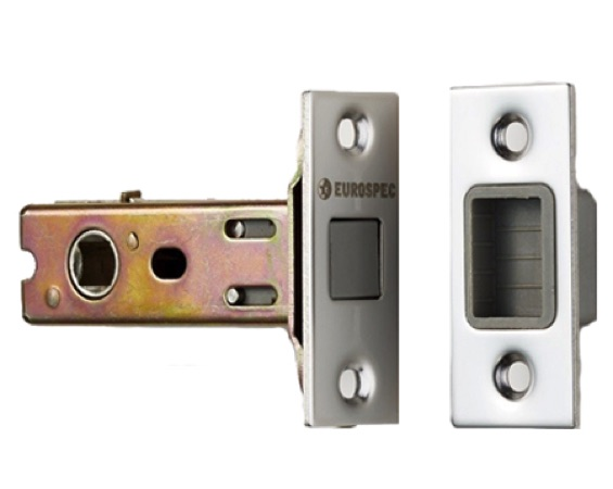 Eurospec Magnetic 2.5 Inch Or 3 Inch Tubular Latches (Bolt Through), Various Finishes - TLM5030
