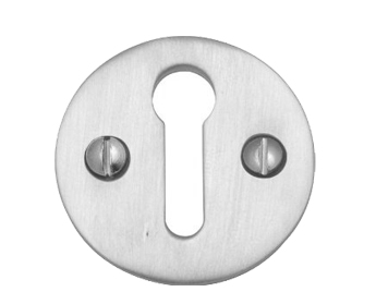 'Plain' Standard Profile Escutcheons, Multiple Finishes - V1010
