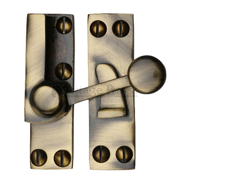 Heritage Brass Sash Fastener (69mm x 20mm), Antique Brass - V1100-AT