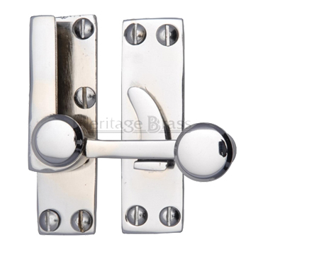 Heritage Brass Sash Fastener (69mm x 20mm), Polished Chrome - V1100-PC