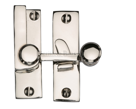 Heritage Brass Sash Fastener (69mm x 20mm), Polished Nickel - V1100-PNF