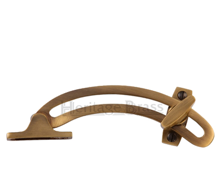 Heritage Brass Quadrant Stay (152mm), Antique Brass - V1118-AT
