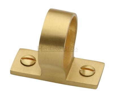 Heritage Brass Sash Ring Lift Internal Diameter 25mm