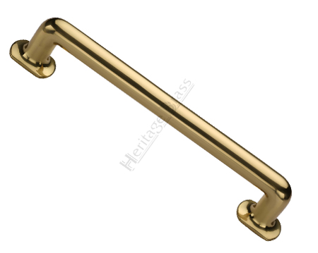 Heritage Brass 'Traditional' Pull Handles (279mm OR 432mm c/c), Polished Brass - V1376-PB