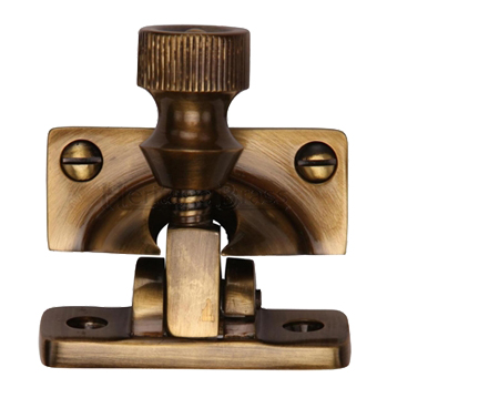 Heritage Brass Brighton Sash Fastener (58mm x 23mm), Antique Brass - V2055-AT