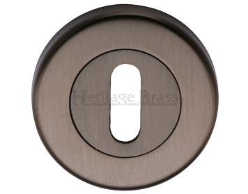 Heritage Brass 'Standard' Key Escutcheon, Matt Bronze - V4000-MB