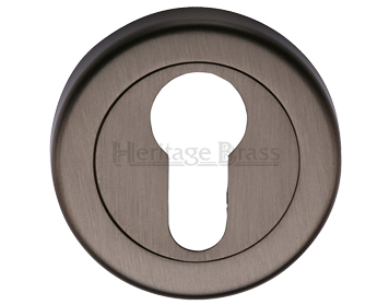 Heritage Brass 'Euro Profile' Key Escutcheon, Matt Bronze - V4020-MB