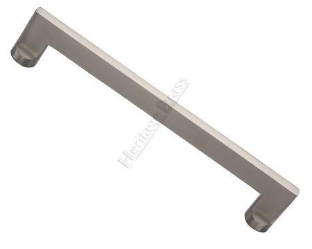 Heritage Brass Apollo Pull Handles (279mm OR 432mm c/c), Satin Nickel - V4150-SN