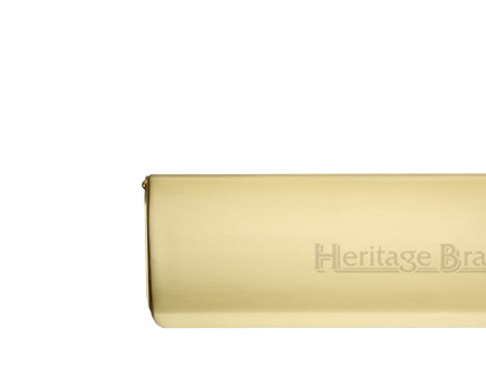 Heritage Brass Small Interior Letter Flap (280mm x 83mm), Satin Brass - V860 280-SB