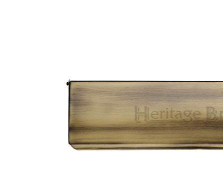 Heritage Brass Small Interior Letter Flap (280mm x 83mm), Antique Brass - V860 280-AT