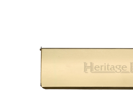 Heritage Brass Small Interior Letter Flap (280mm x 83mm), Polished Brass - V860 280-PB