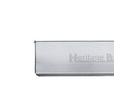 Heritage Brass Small Interior Letter Flap (280mm x 83mm), Satin Chrome - V860 280-SC