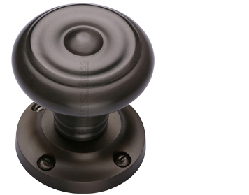 Heritage Brass 'Aylesbury' Mortice Door Knob, Matt Bronze - V872-MB (sold in pairs)