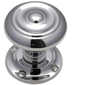 Heritage Brass 'Aylesbury' Mortice Door Knob, Polished Chrome - V872-PC (sold in pairs)