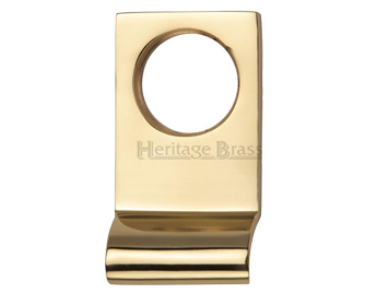 Heritage Brass Rectangular Cylinder Pull (84mm x 45mm), Polished Brass - V933-PB