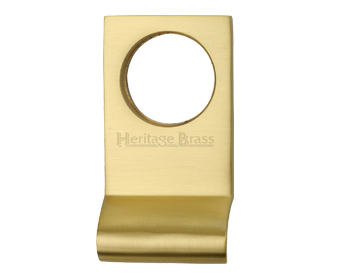 Heritage Brass Rectangular Cylinder Pull (84mm x 45mm), Satin Brass - V933-SB