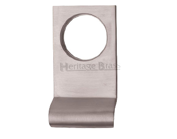 Heritage Brass Rectangular Cylinder Pull (84mm x 45mm), Satin Chrome - V933-SC