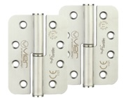 Zoo Hardware Vier Precision 4 Inch Grade 11 Radius Edge Lift-Off Hinge, Satin Stainless Steel - VLHL243RS (sold in pairs)