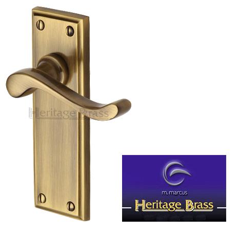 Edwardian Antique Brass Door Handles Edw At Sold In