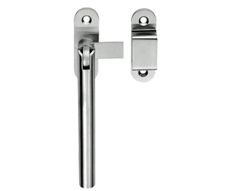 Carlisle Brass Stainless Steel Modern Window Fastener, Satin Finish - WF21SS