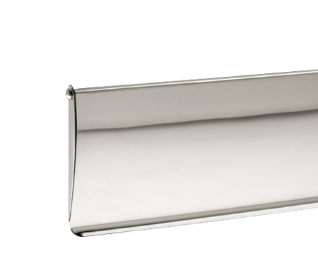 Internal Letter Tidy, 320mm x 90mm, Polished Or Satin (Matt) Stainless Steel - X95