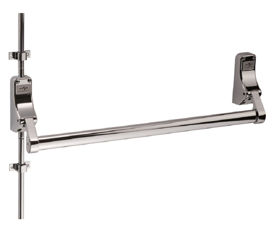 Eurospec Pushbar Panic Bolt & Vertical Rods, Various Finishes Available - XDB5760