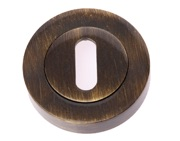 Prima Standard Profile Escutcheon (53mm), Antique Brass - XL1322
