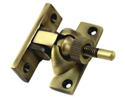 Prima Brighton Sash Window Fastener (57mm x 25mm), Antique Brass - XL135