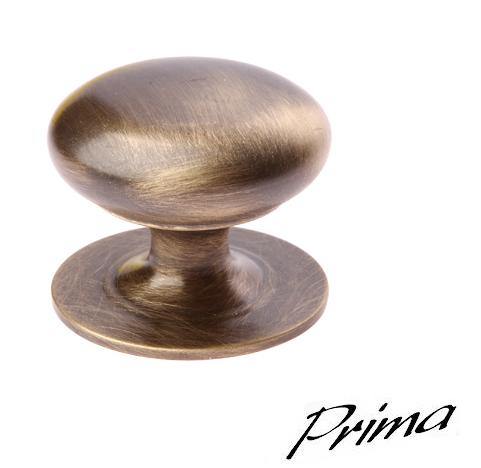 Victorian Solid Cupboard Knobs 42mm Antique Brass