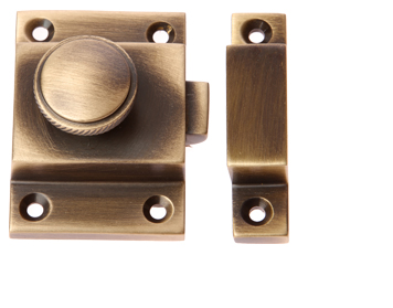 Prima Cupboard Catch With Knurled Knob Antique Brass - XL580  sc 1 st  Door Handle Company & Cabinet Fasteners u0026 Accessories from Door Handle Company