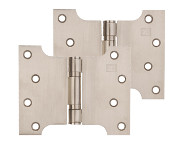 Excel Grade 201 Button Tip Washered Parliament Hinges (5 Inch) Multiple Finishes - XL970 (sold in pairs)