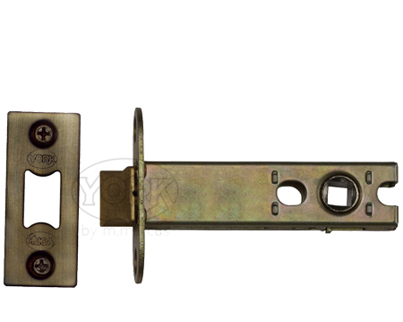 Heritage Brass 'Heavy Duty' 2.5, 3, 4, OR 5 Inch Tubular Latches, Antique Brass - YKAL-AT