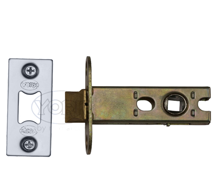 Heritage Brass 'Heavy Duty' 2.5, 3, 4, OR 5 Inch Tubular Latches, Polished Chrome / Polished Nickel - YKAL-PC&PN