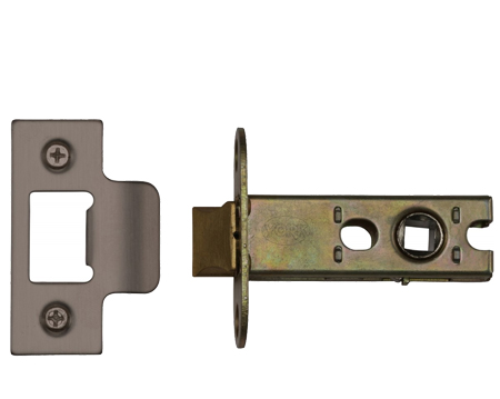 Heritage Brass 'Heavy Duty' 2.5, 3, 4, OR 5 Inch Tubular Latches, Matt Bronze - YKAL-MB