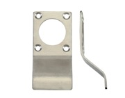 Zoo Hardware ZAS Cylinder Latch Pull Rim Profile (88mm x 43mm), Satin Stainless Steel - ZAS18SS