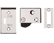 Zoo Hardware ZAS Hush Latch (64mm x 40mm), Polished Chrome - ZAS21CP