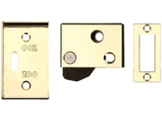 Zoo Hardware ZAS Hush Latch (64mm x 40mm), Electro Brass - ZAS21EB