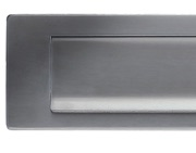 Zoo Hardware ZAS Letter Plate (340mm x 76mm), Satin Stainless Steel - ZAS37SS