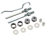 Zoo Hardware Back To Back Fixing Pack For 19mm Pull Handles, Satin Stainless Steel - ZBBF19SS