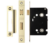 Zoo Hardware Contract Bathroom Lock (64mm OR 76mm), PVD Stainless Brass - ZBC64PVD