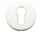 Zoo Hardware ZCS Architectural Euro Profile Escutcheon, Polished Stainless Steel - ZCS001PS
