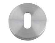 Zoo Hardware ZCS Architectural Standard Profile Escutcheon, Satin Stainless Steel - ZCS002SS