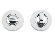 Zoo Hardware ZCS Architectural Bathroom Turn & Release, Polished Stainless Steel - ZCS004PS