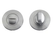 Zoo Hardware ZCS2 Contract Bathroom Turn & Release, Satin Stainless Steel - ZCS2004SS