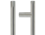Zoo Hardware ZCS2G Contract Guardsman Pull Handle (19mm or 22mm Bar Diameter), Satin Stainless Steel - ZCS2G300BS
